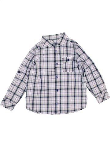 Chemise manches longues garçon OKAIDI gris 6 ans hiver #1454336_1