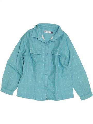 Blusa de manga larga niña CFK azul 4 años invierno #1454378_1