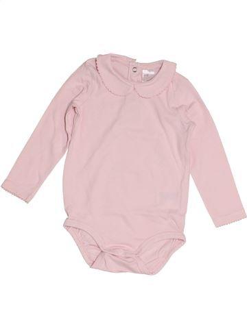 Camiseta de manga larga niña H&M rosa 9 meses invierno #1454423_1