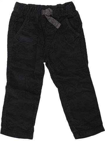 Pantalon garçon ZARA noir 3 ans hiver #1454474_1