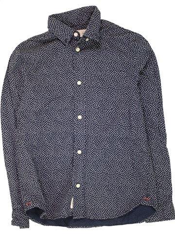 Chemise manches longues garçon H&M bleu 12 ans hiver #1454503_1