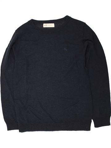 Pull garçon H&M bleu foncé 7 ans hiver #1454511_1