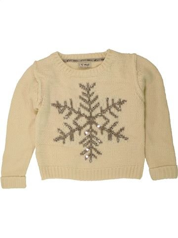 Pull fille NEXT beige 6 ans hiver #1454559_1
