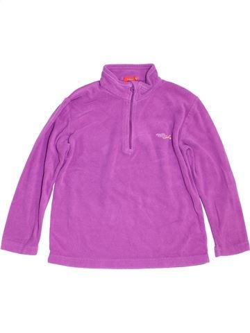 Pull fille TISSAIA violet 8 ans hiver #1454573_1