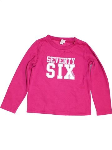 Sweat fille DOMYOS rose 6 ans hiver #1454575_1