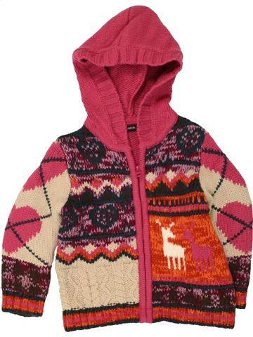 Gilet fille GEORGE rouge 3 ans hiver #1454576_1