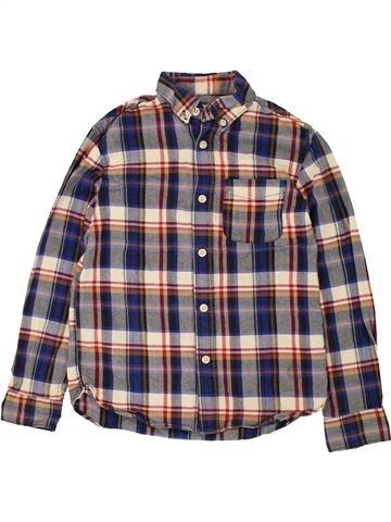 Chemise manches longues garçon H&M gris 9 ans hiver #1454694_1