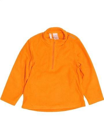 jersey niño QUECHUA naranja 4 años invierno #1454709_1