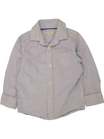 Chemise manches longues garçon JOHN LEWIS gris 5 ans hiver #1454777_1