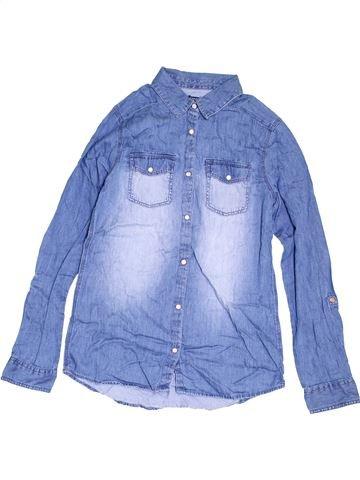 Chemise manches longues garçon KIABI bleu 12 ans hiver #1454799_1