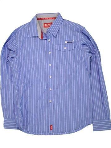 Chemise manches longues garçon DIESEL bleu 14 ans hiver #1455023_1
