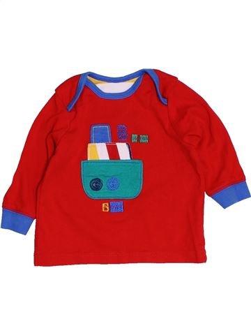 T-shirt manches longues garçon MOTHERCARE rouge 6 mois hiver #1455214_1