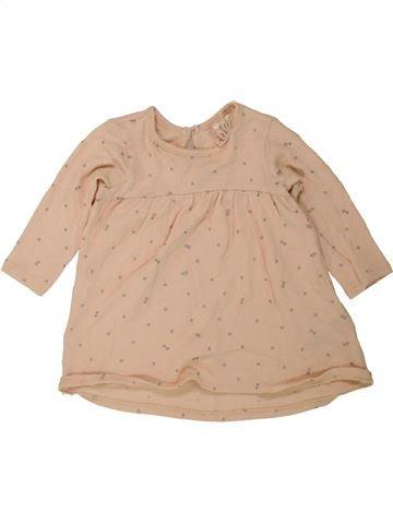 Vestido niña H&M beige 6 meses invierno #1455321_1