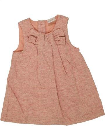 Robe fille MINI CLUB rose 6 mois hiver #1455387_1