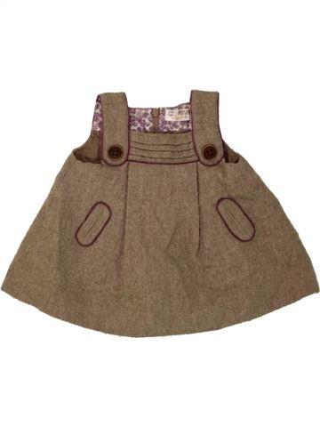 Vestido niña ZARA marrón 6 meses invierno #1455449_1