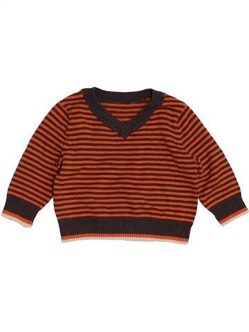 Pull garçon MOTHERCARE marron 6 mois hiver #1455575_1