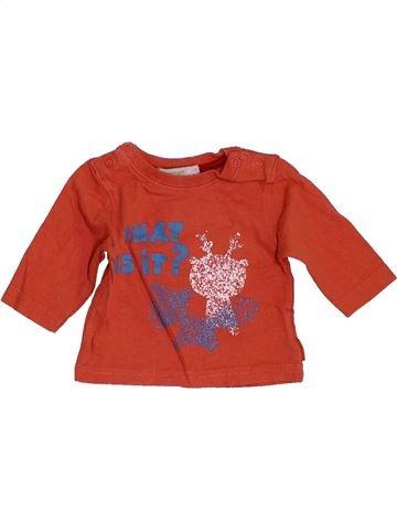 Camiseta de manga larga niño PREMAMAN naranja 1 mes invierno #1455673_1
