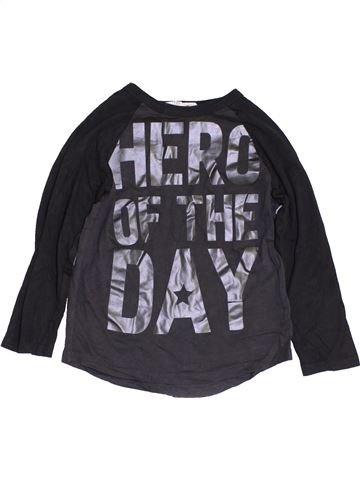 Camiseta de manga larga niño H&M negro 6 años invierno #1455732_1