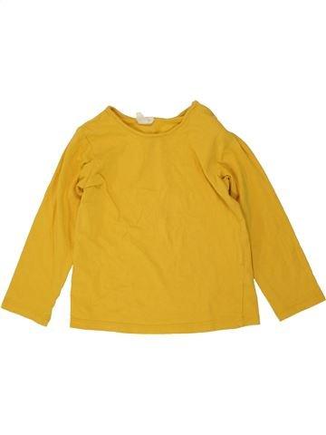 Camiseta de manga larga niño H&M amarillo 2 años invierno #1456947_1