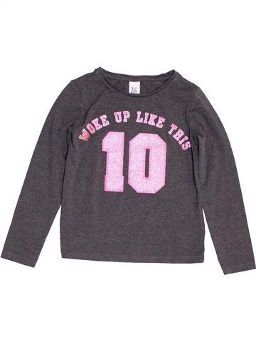 Camiseta de manga larga niña H&M violeta 6 años invierno #1457103_1