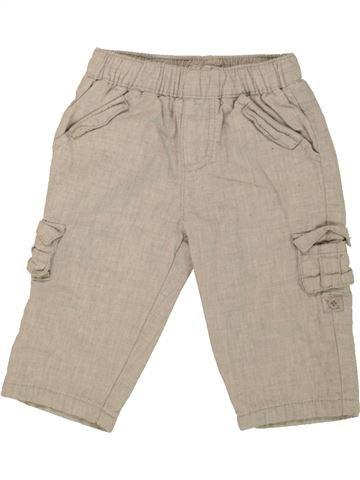 Pantalon garçon MAMAS & PAPAS beige 9 mois hiver #1457168_1