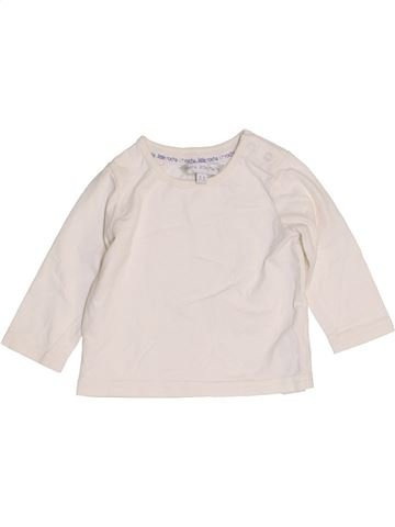 T-shirt manches longues fille ROCHA LITTLE ROCHA blanc 6 mois hiver #1457190_1