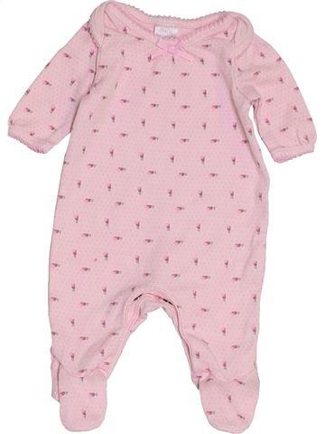 Pyjama 1 pièce fille MINI CLUB rose prématuré été #1457246_1
