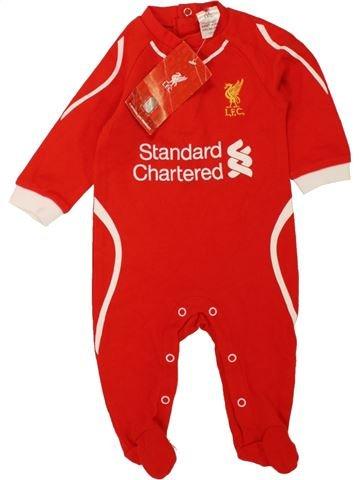 Pijama de 1 pieza niño LFC blanco 3 meses verano #1457286_1