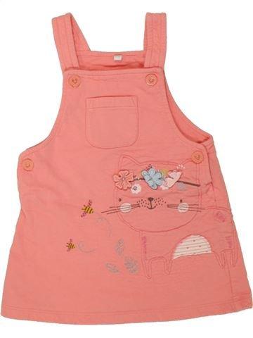 Vestido niña BLUEZOO rosa 18 meses invierno #1457310_1