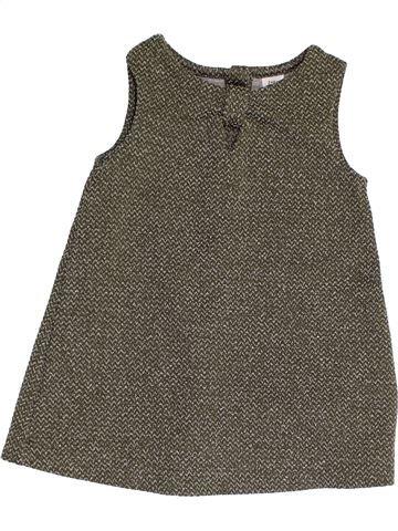 Vestido niña ZARA gris 18 meses invierno #1457339_1