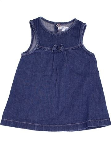 Vestido niña KIABI azul 12 meses invierno #1457344_1