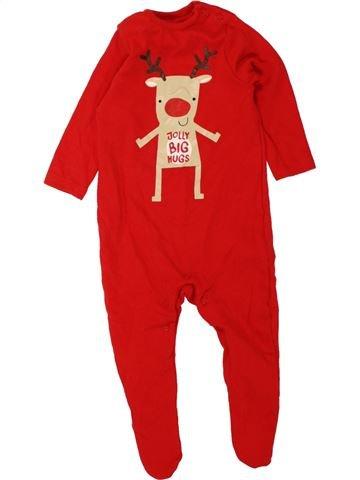 Pijama de 1 pieza niño F&F rojo 3 meses verano #1457474_1