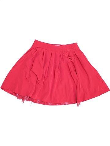 Falda niña OKAIDI rojo 10 años invierno #1457559_1