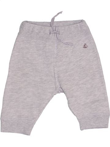 Pantalón niño PETIT BATEAU gris 6 meses invierno #1457662_1