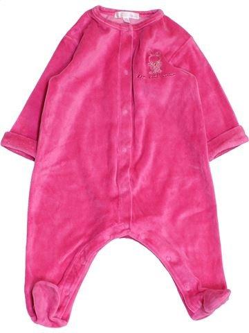 Pijama de 1 pieza niña KIABI rosa 6 meses invierno #1457959_1