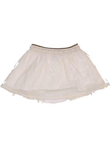 Falda niña C&A blanco 7 años verano #1457981_1