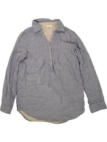 Blusa de manga larga niña H&M gris 11 años invierno #1458007_1