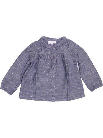 Blusa de manga larga niña CADET ROUSSELLE gris 2 años invierno #1458334_1