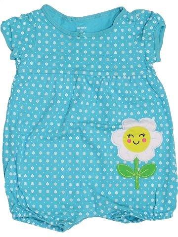 Combinación corta niña CARTER'S azul 9 meses verano #1458381_1