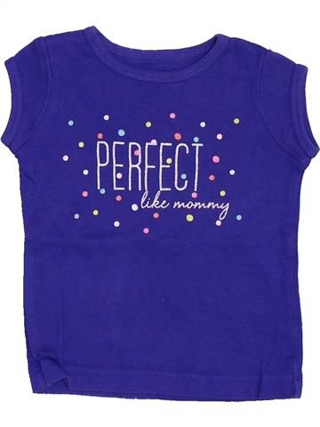 Camiseta de manga corta niña CARTER'S violeta 9 meses verano #1458422_1