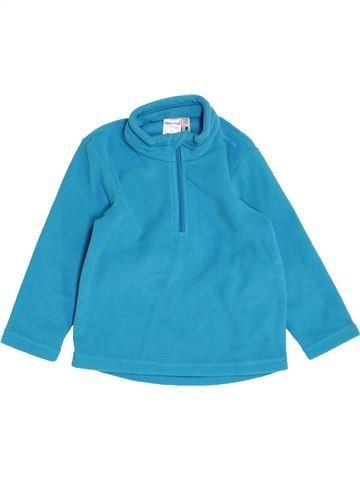 jersey niña QUECHUA azul 2 años invierno #1458451_1