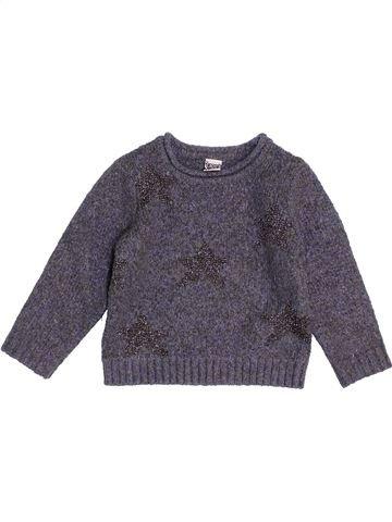 jersey niña TAPE À L'OEIL gris 2 años invierno #1458453_1