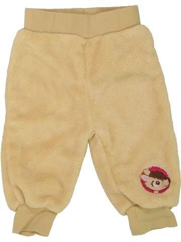 Pantalon fille ERGEE beige 6 mois hiver #1458549_1