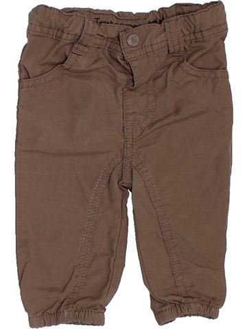 Pantalon garçon TOUT COMPTE FAIT marron 3 mois été #1458572_1