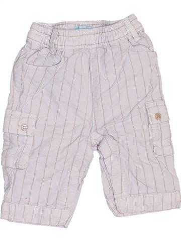 Pantalon garçon OKAIDI blanc 3 mois hiver #1458601_1