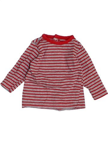 T-shirt manches longues garçon KIMBALOO rose 1 mois hiver #1458612_1