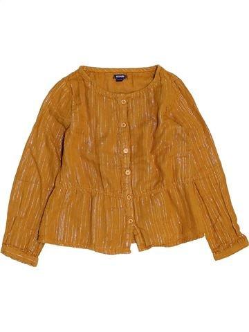 Blusa de manga larga niña KIABI naranja 5 años invierno #1458711_1