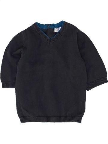 Pull garçon KIABI bleu foncé 1 mois hiver #1458777_1