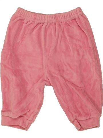 Pantalon fille HELLO KITTY rose 6 mois hiver #1458849_1