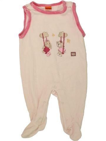 Pijama de 1 pieza niña PUSBLU beige 3 meses invierno #1458865_1